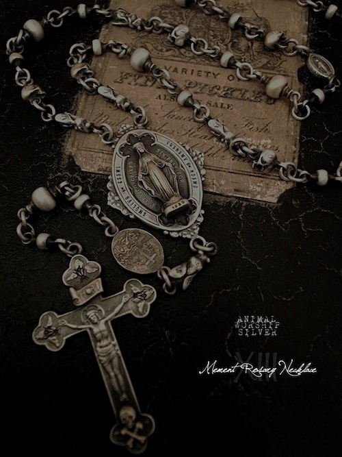 Mement Rosary Necklace