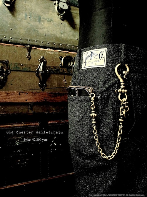 Old Chester Walletchain price:42,800yen