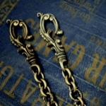 Antique Hook Walletchain 36,800yen~