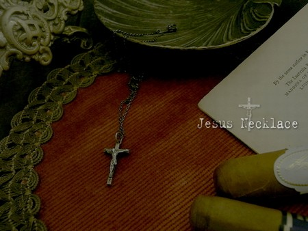 Jesus Necklace \11,500