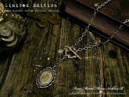 ブラス色で統一し真鍮の雰囲気を存分に楽しんで頂けるネックレスです。