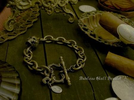 Madeleine Skull Bracelet『A』 \16,000