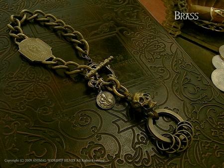 Madeleine Skull Keychain All Brass 18,500yen