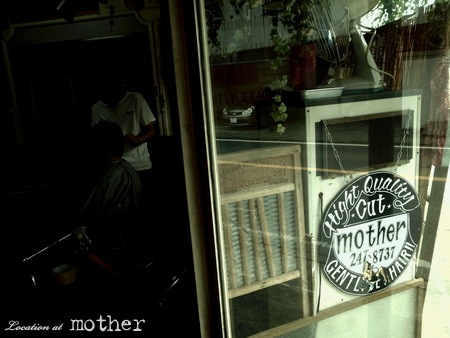 地元のイカした美容室『mother』様