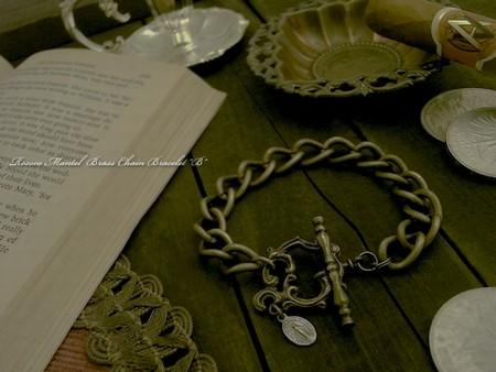 Rococo Mantel Brass Chain Bracelet 『B』 \10,800