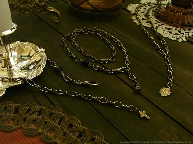 Double Roll Chain Bracelet