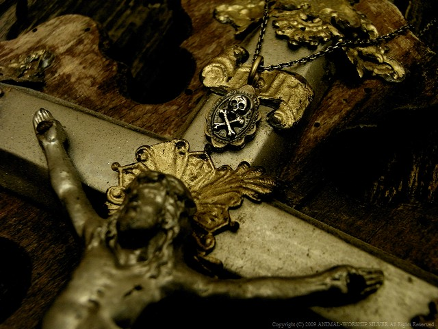 Golgotha Charm Necklace